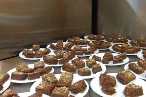 Pastisset casolà de xocolata i castanyes. Castanyada 2015